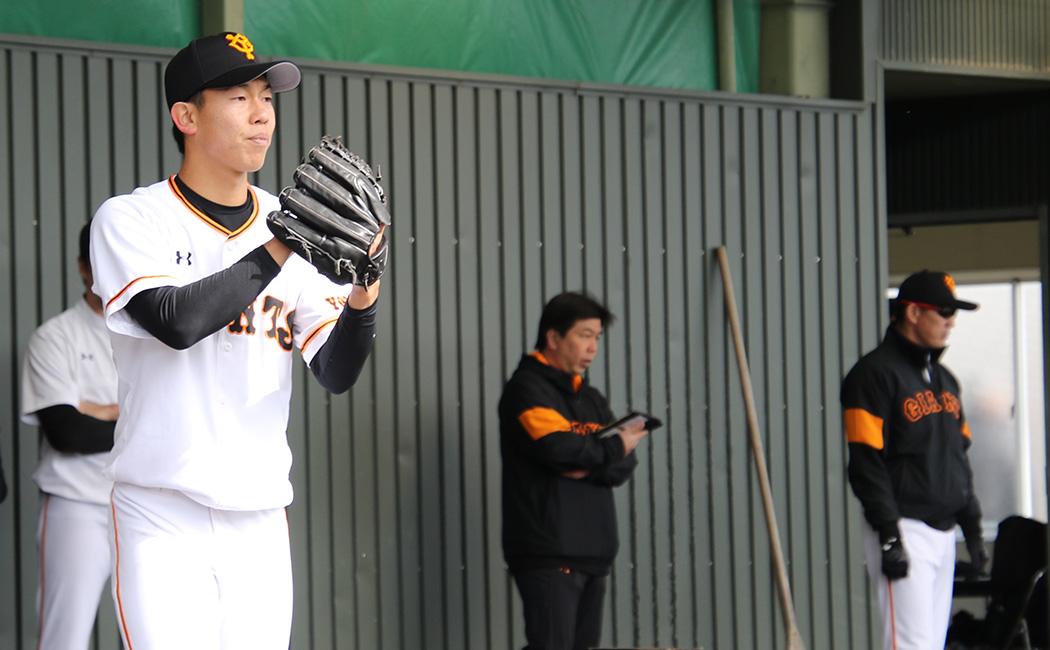 宮崎春季キャンプ、第1クールでは力強いボールを投げていた畠世周