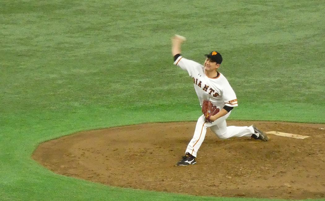 阪神に逆方向狙いの打撃をされ5点を失った菅野