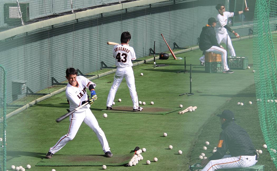 キャンプでの振り込みがスイングスピードやフィジカル面を強化し、松井臨時コーチの指導で技術面が向上した
