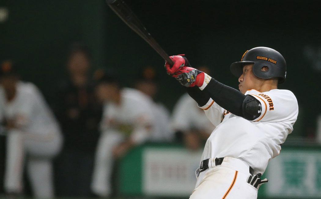 史上最年少で3割30本100打点を達成した岡本和真