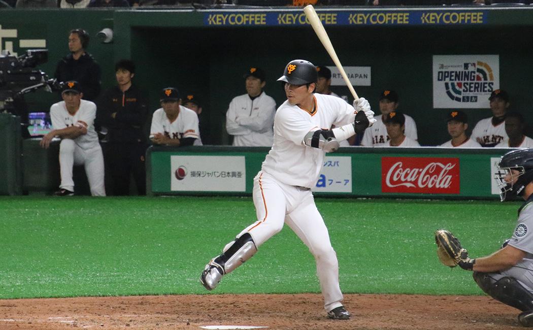 ジャイアンツ強打の捕手・大城卓三#46