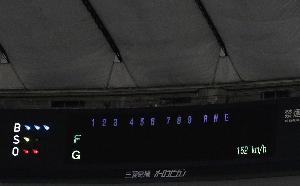 戸郷翔征の直球のスピード width=