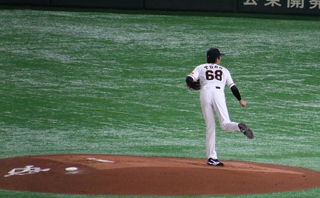 戸郷翔征の投球フォーム11