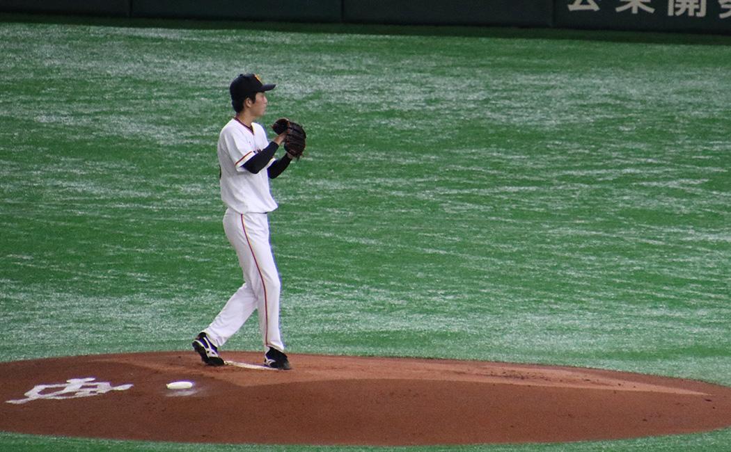 戸郷翔征の投球フォーム1