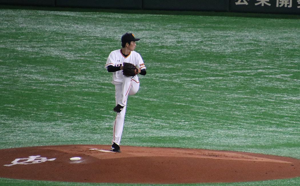 戸郷翔征の投球フォーム3
