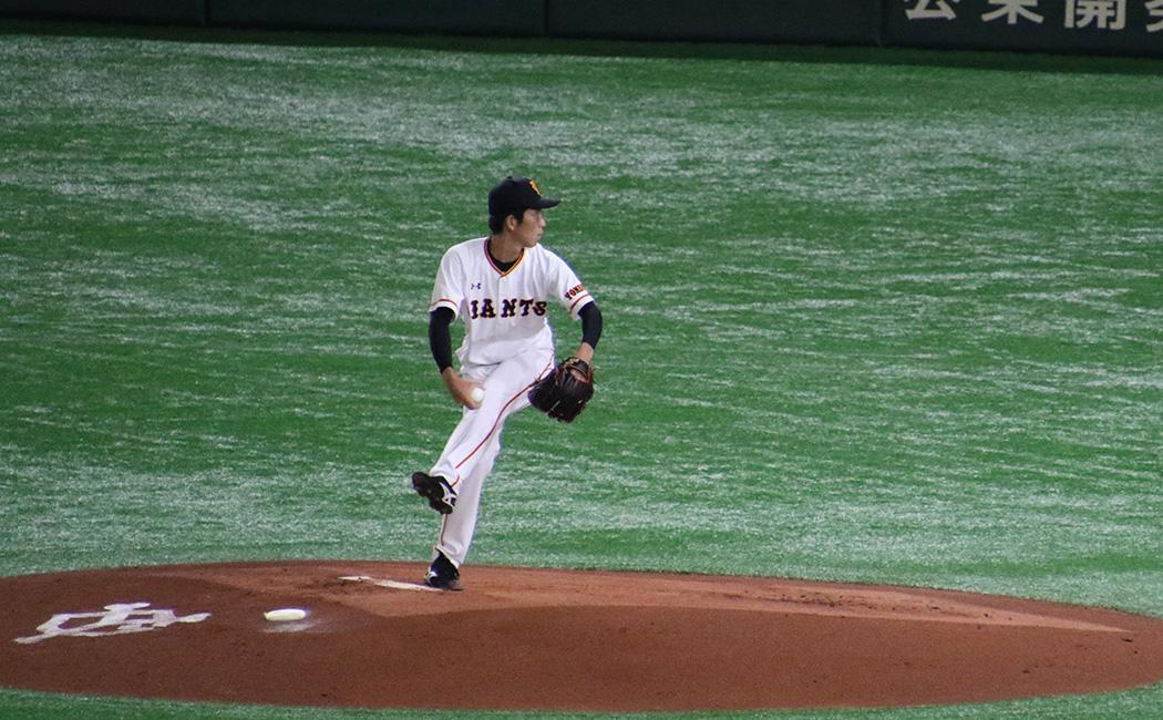 戸郷翔征の投球フォーム4