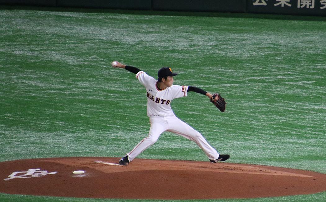 戸郷翔征の投球フォーム6