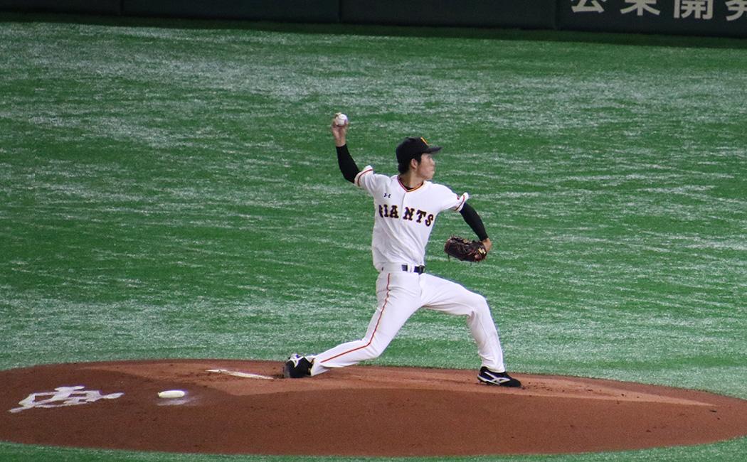 戸郷翔征の投球フォーム7