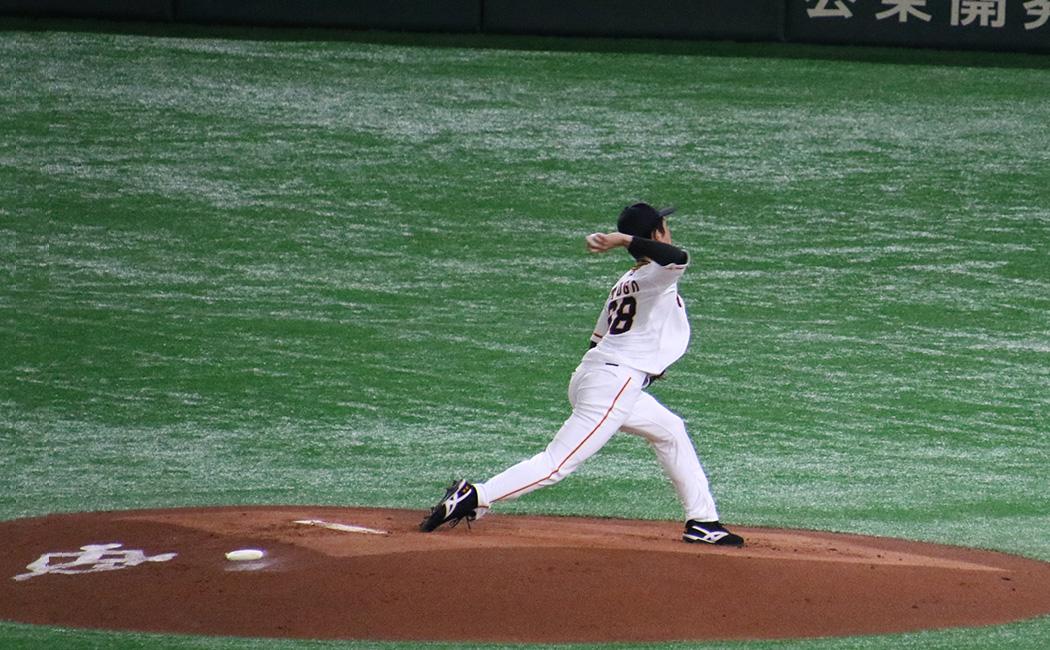 戸郷翔征の投球フォーム8