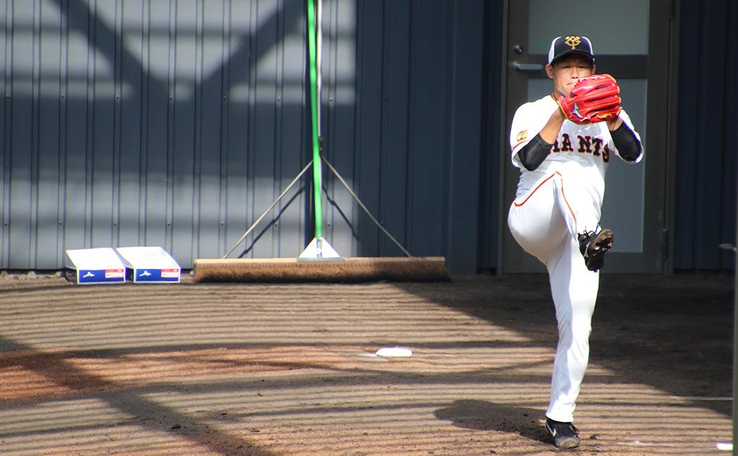 この日、田口はブルペンで146球を投げ込んだ